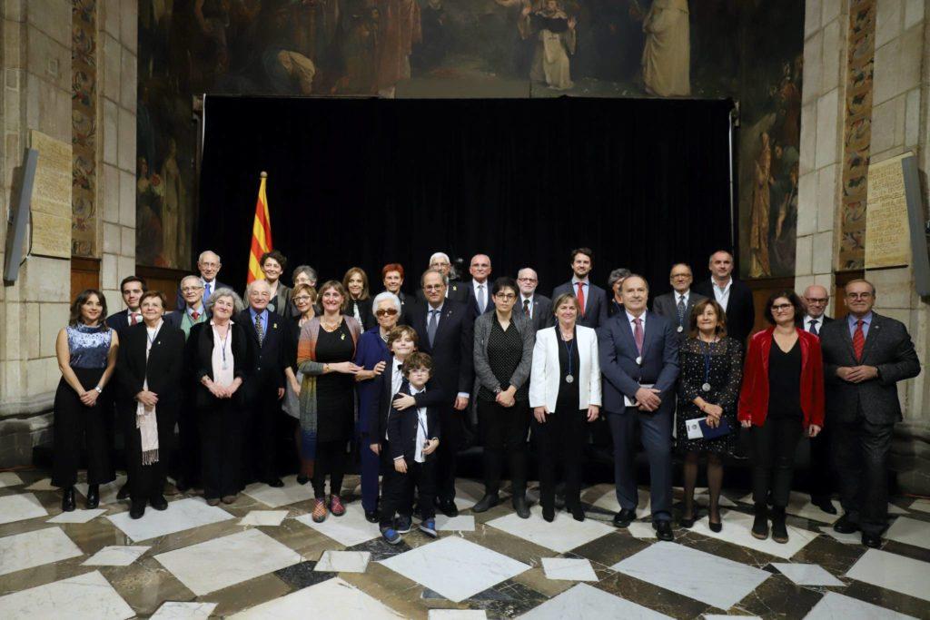 El Govern atorga 23 medalles i plaques Josep Trueta a professionals i entitats destacades de l'àmbit de la salut