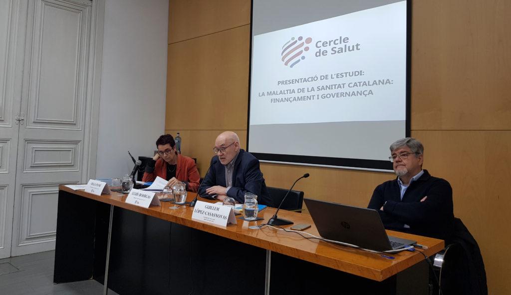 Catalunya hauria d'afegir entorn de 5.000 milions a la sanitat pública per equiparar la despesa a la de països similars